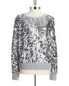 MICHAEL Michael Kors Sequined Pullover - Lyst