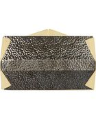 Roland Mouret Metallic Box Clutch Bag - Lyst