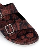 Givenchy Paisley Print Sandals - Lyst