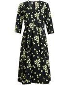 Marni Cherry Blossom Printed Dress - Lyst