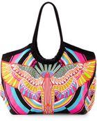 Mara Hoffman Multicolor Canvas Tote Bag - Lyst