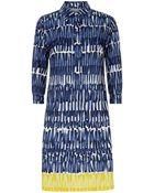Weekend By Maxmara Patata Brushstroke Shirt Dress - Lyst