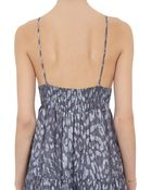 L'Agence Crossoverback Dress - Lyst