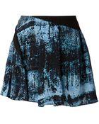 Proenza Schouler Blotchy Print Skirt - Lyst