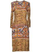 Dolce & Gabbana Knee-Length Dress - Lyst