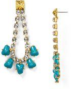 Sam Edelman Chain Drop Earrings - Lyst