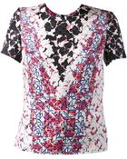 Peter Pilotto Printed Top - Lyst