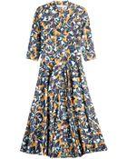 Mary Katrantzou Drive Printed Cotton Dress - Lyst