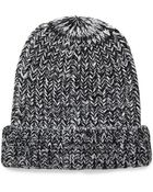 Forever 21 Marled Chunky Knit Beanie - Lyst