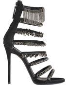 Giuseppe Zanotti Embellished Strappy Sandals - Lyst