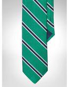 Polo Ralph Lauren Striped Silk Repp Tie - Lyst