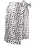 Damir Doma Wrap Skirt - Lyst