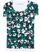 Marni Cotton Printed T-Shirt - Lyst