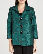 Caroline Rose Pebble Jacquard Jacket - Lyst