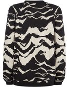 Whistles Mystic Mountain Jacquard Sweater - Lyst