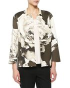Lafayette 148 New York Anne Floral-Print Topper Jacket - Lyst