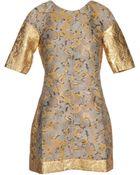 Ostwald Helgason Short Dress - Lyst