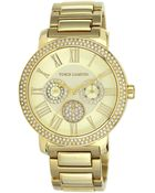 Vince Camuto Women'S Gold-Tone Stainless Steel Bracelet 42Mm Vc-5000Chgb - Lyst