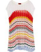 Missoni Crochet-Knit Coverup - Lyst