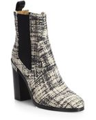Reed Krakoff Oxford Tweed Ankle Boots - Lyst