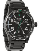 Nixon Diplomat Sterling Silver Watch - Lyst