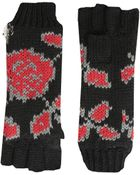 Betsey Johnson Vintage Rose Half-Finger Glove - Lyst