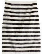 Balmain Fringe Skirt - Lyst