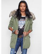 Ralph Lauren Fish-Tail Parka - Lyst