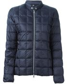 Fay Zip Front Quilted Jacket - Lyst