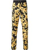 Versace Baroque Track Trousers - Lyst