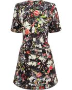 McQ by Alexander McQueen Festival Floral Zip Off Dress - Lyst