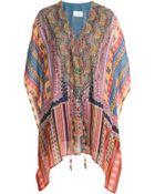 Camilla Printed Silk Tunic - Lyst