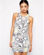 Jaded London Pastel Jewel Body-Conscious Dress - Lyst
