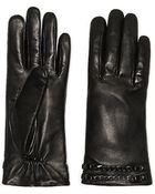 Vince Camuto Leather Studded Chain Glove - Lyst