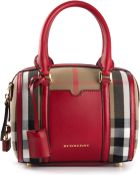 Burberry 'Sartorial' Small Bowling Bag - Lyst