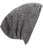 Forever 21 Heathered Ribbed Knit Beanie - Lyst