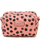Marc By Marc Jacobs Crosby Quilted Nylon Large Cosmetic Case - Spring Peach Multi - Lyst