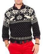 Ralph Lauren Polo Reindeer Crewneck Sweater - Lyst