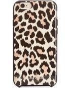 Kate Spade Leopard Ikat Iphone 6 Case - Lyst