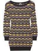 M Missoni Crochet-Knit Cotton-Blend Sweater - Lyst