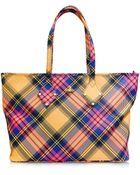 Vivienne Westwood Derby Fabric Tote Bag - Lyst