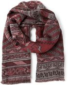 Paul Smith Patterned Scarf - Lyst