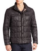 Kenneth Cole Box-Quilted Puffer Jacket - Lyst