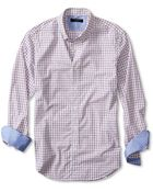 Banana Republic Tailored Slim-Fit Soft-Wash Bold Check Shirt - Lyst