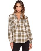 Anine Bing Plaid Shirt - Lyst