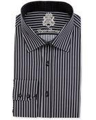 English Laundry Thin Striped Dress Shirt - Lyst