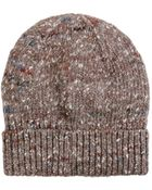 Stella McCartney Chunky Knit Hat - Lyst