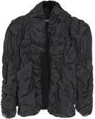 Isabel Marant Lasia Ruched Cotton-Organdy Jacket - Lyst