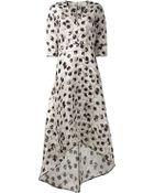 Zero + Maria Cornejo 'Organza Isie' Long Dress - Lyst