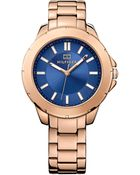 Tommy Hilfiger Women'S Rose Gold Ion-Plated Stainless Steel Bracelet Watch 38Mm 1781498 - Lyst